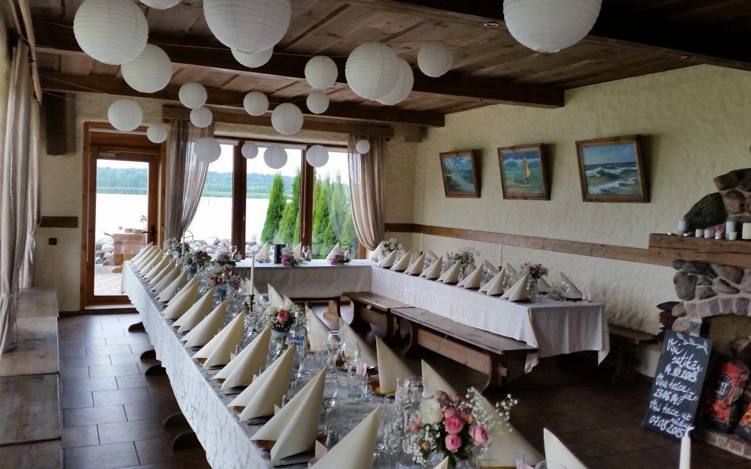 Viesu nams kāzām Jūrmalā